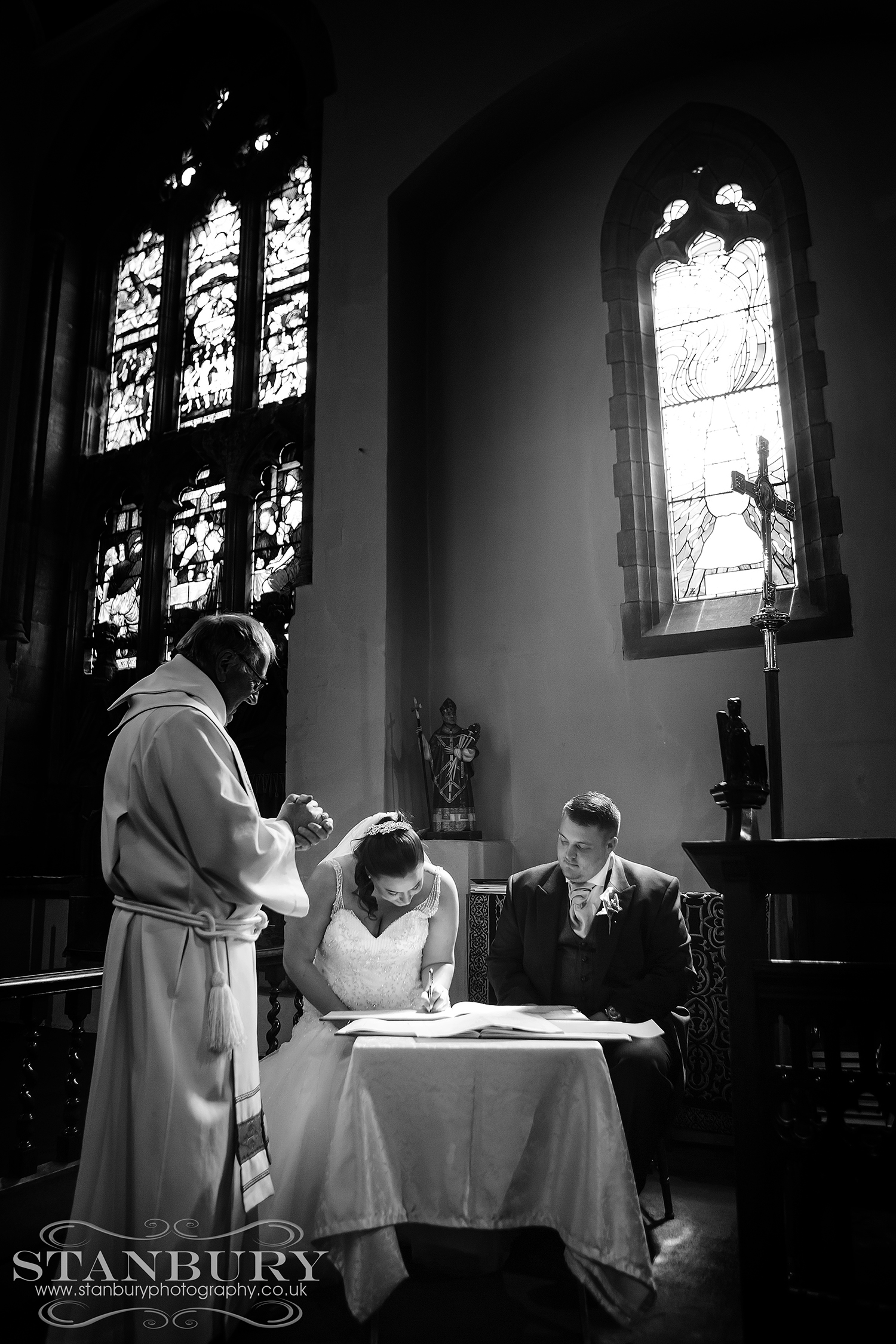 wrightington hotel wedding photographers - stanbury photography wigan