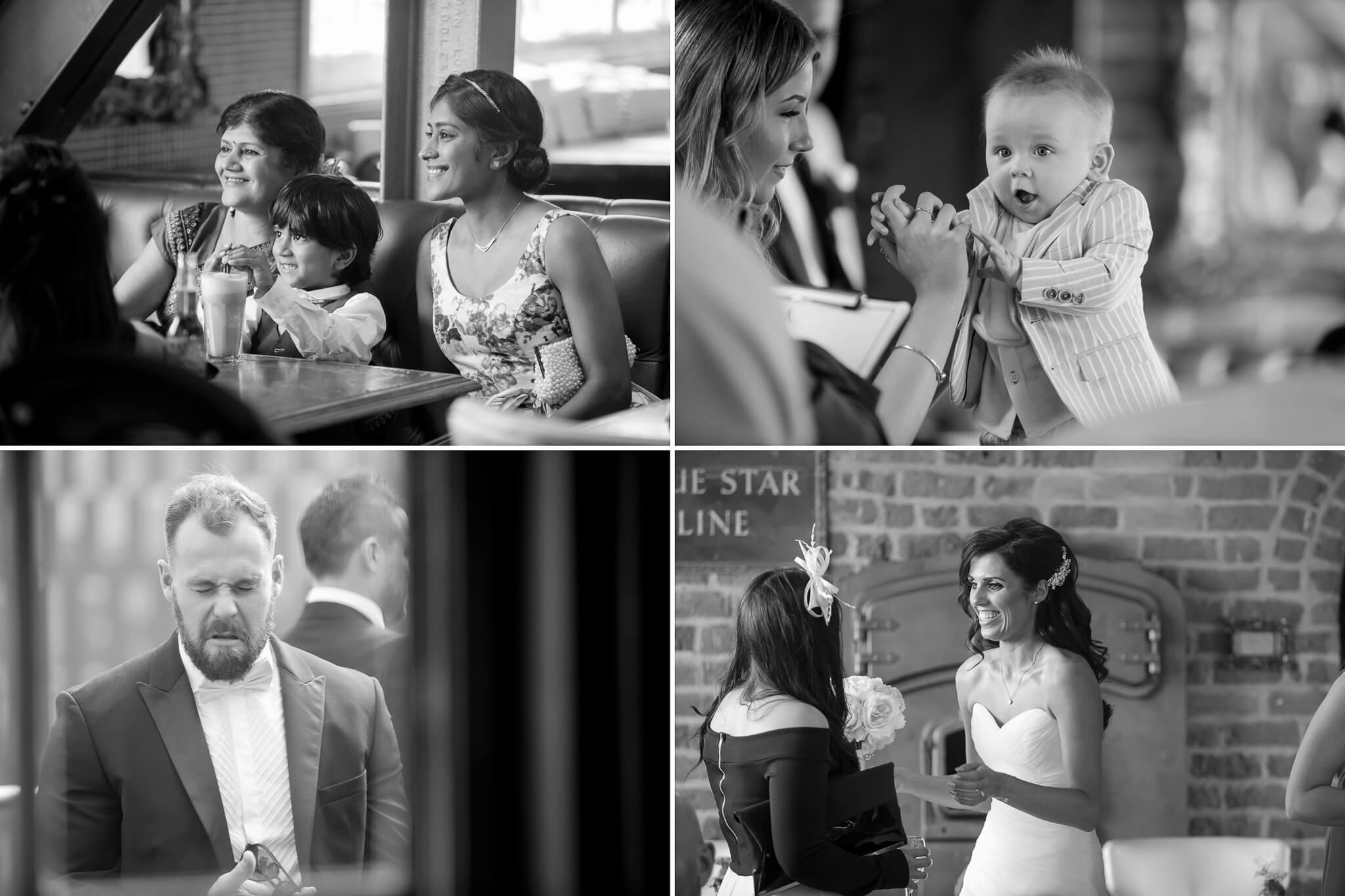 weddingguests-chatting-liverpool-wedding-photography