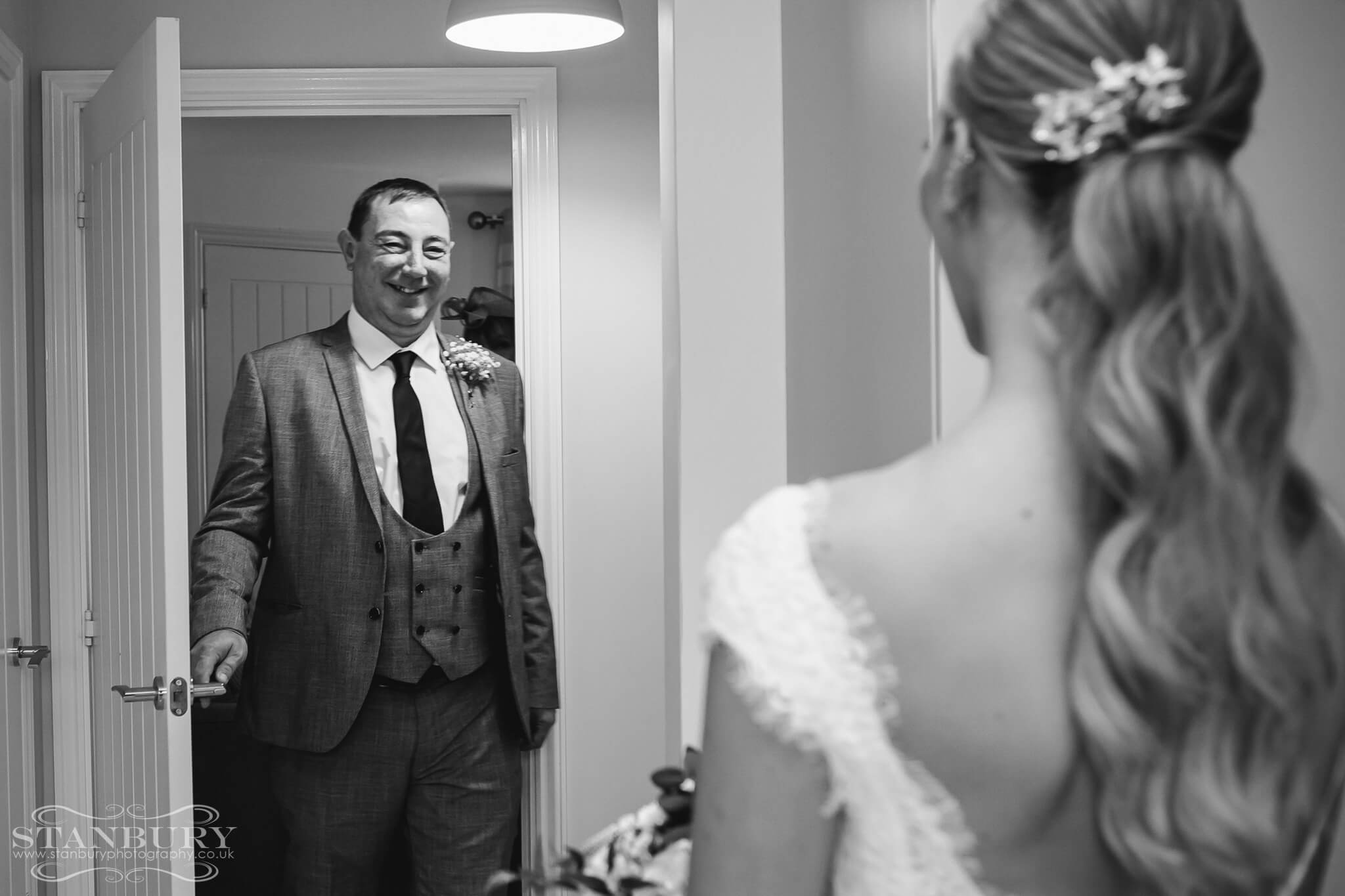 bride-father-first-look-wedding-photography-stanbury-photographers