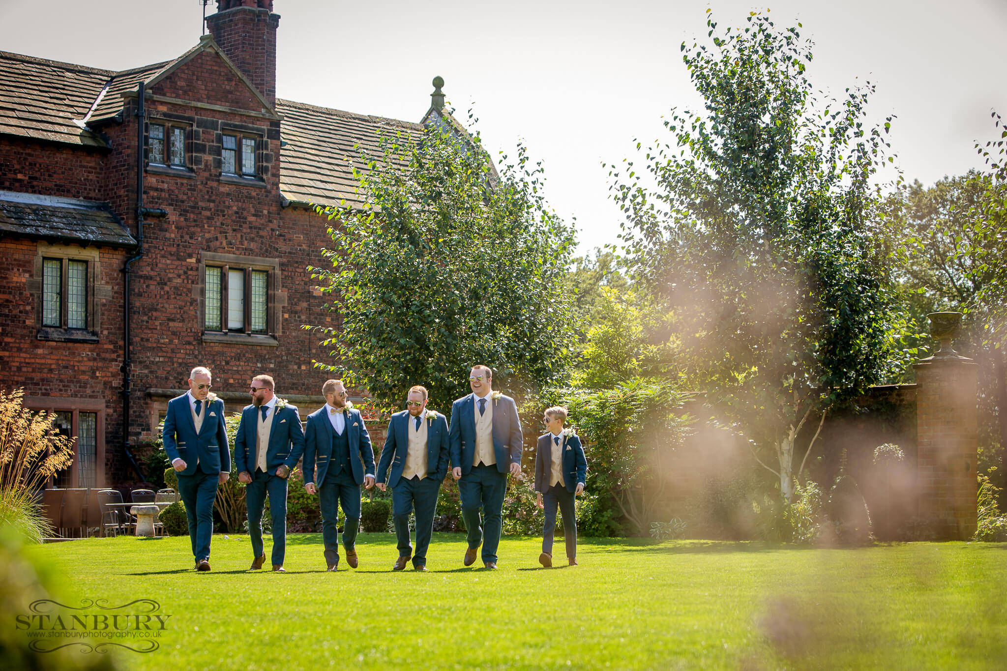 groomsmen-colshaw-hall-cheshire-photographers-stanbury