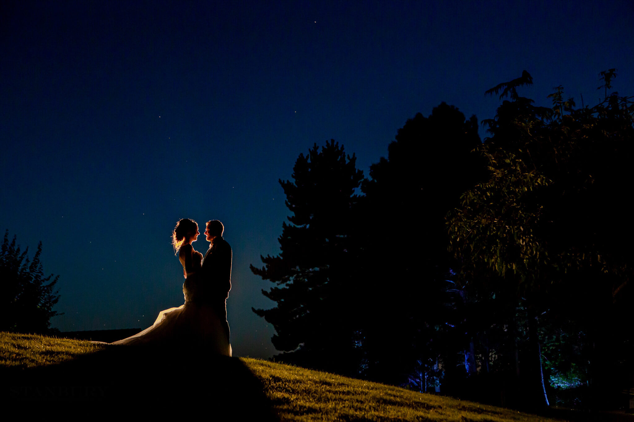 sunset-colshaw-hall-wedding-photography-cheshire-photographers