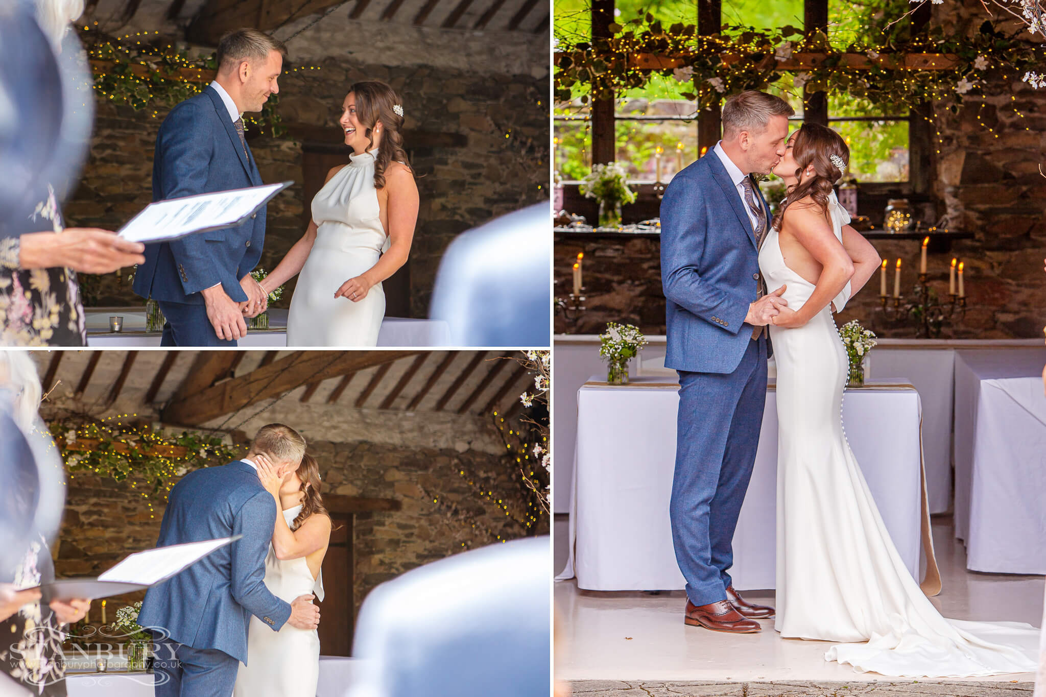 kissing-bride-groom-cote-how-wedding-photography