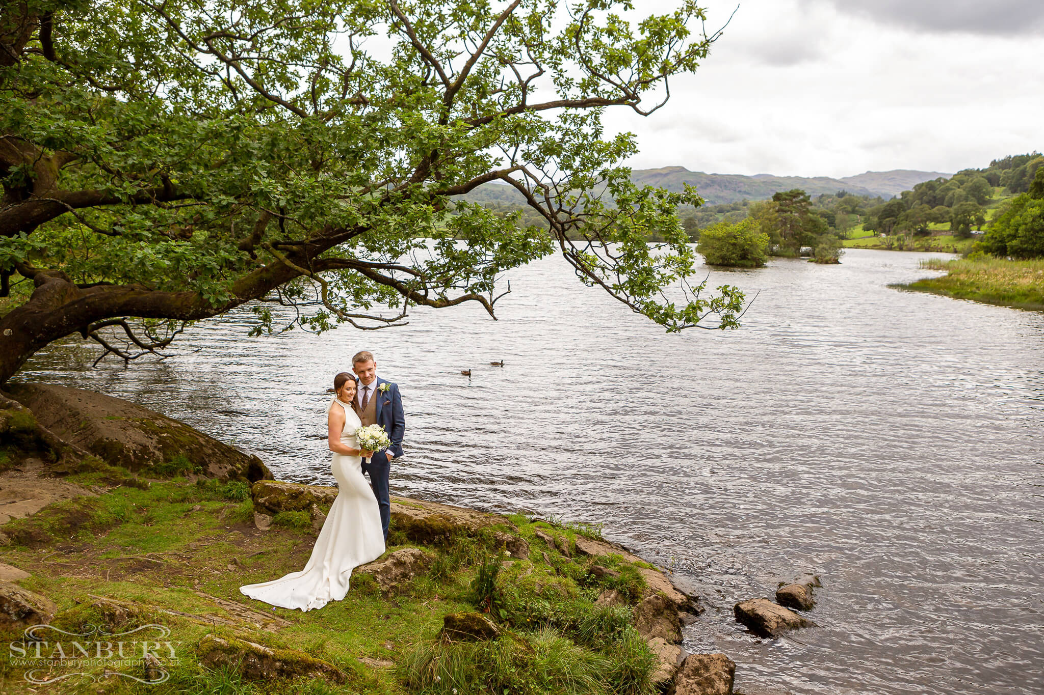 bride-groom-rydal-water-wedding-photography