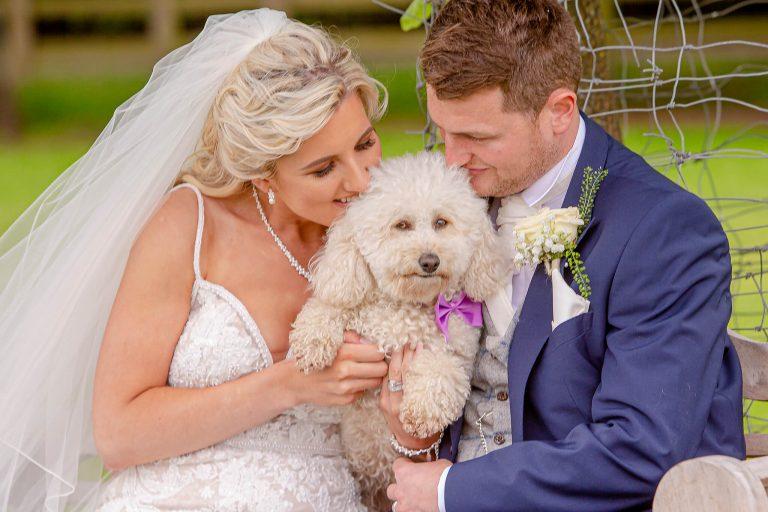 bride-groom-pet-dog-wedding-photography-stanbury-photographers